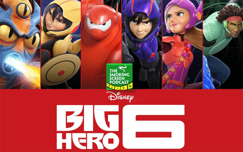 Movie Poster Ad - Big Hero 6