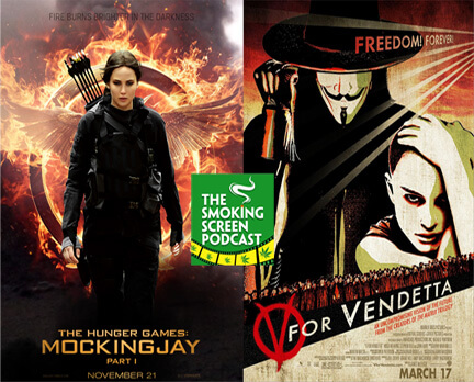 Mockingjay Part 1 & V for Vendetta